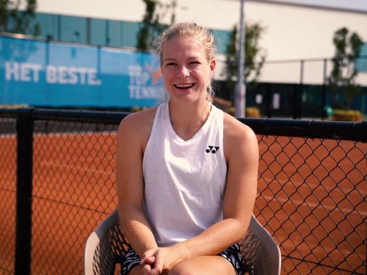 US Open-winnares Diede de Groot: 'Darten lijkt mij leuk'