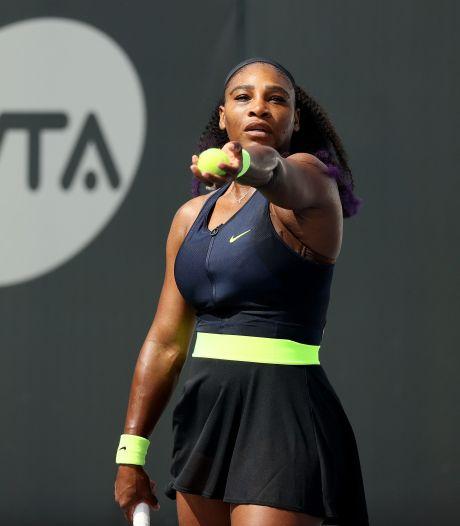 Serena Williams réussit son retour à la compétition