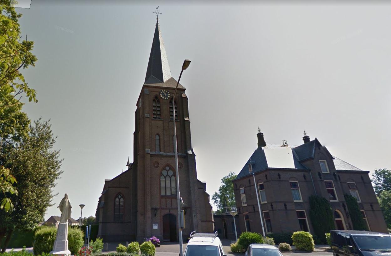 De Sint Jan de Doperkerk in Kilder.