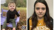 Sinds 26 december verdwenen peutertje Evelyn Mae dood gevonden , mama (18) en oma opgepakt