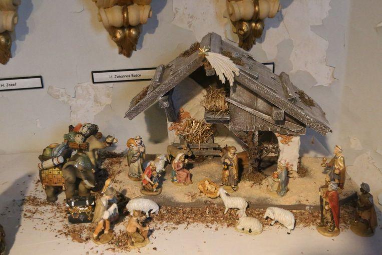 Ook klassieke kerststallen verdienen een plaats.