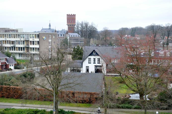 Het terrein van Villa Rozenhof.