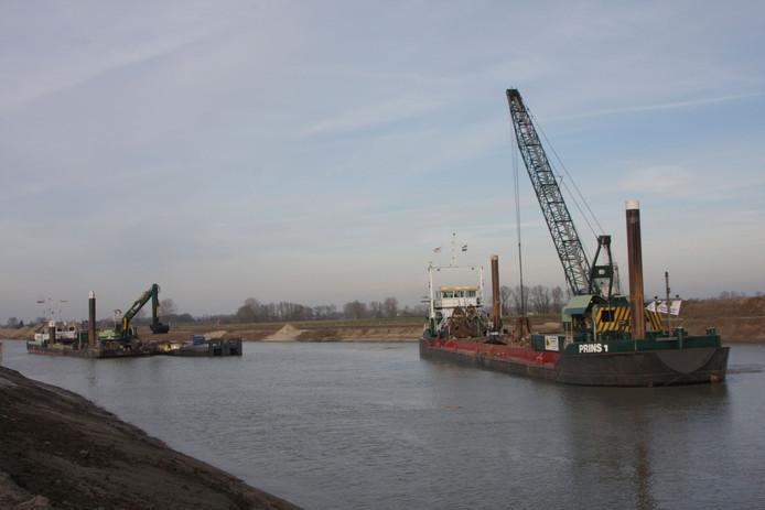 De aanleg van het Máximakanaal.