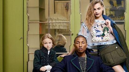 8c4fb258b971f2 Cara en Pharrell schitteren samen in nieuwe campagne Chanel