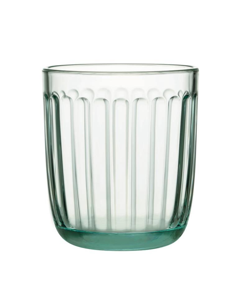 Iittala maakte van het restglas van Aalto-vazen en -schalen een gelimiteerde oplage 'Raami'-glazen, die wegens grote populariteit momenteel helaas uitverkocht zijn. Meer producten van restglas zitten in de pijplijn. iittala.com