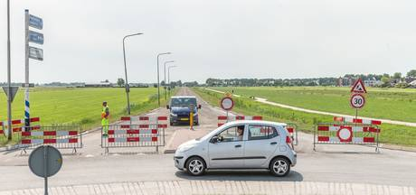 Lange afsluiting Randweg in Genemuiden 'drama'