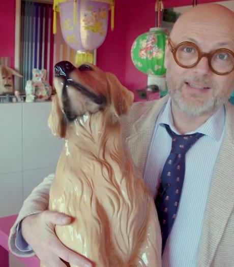 Hond met plakband houdt Patricks herinnering vast van opa en oma