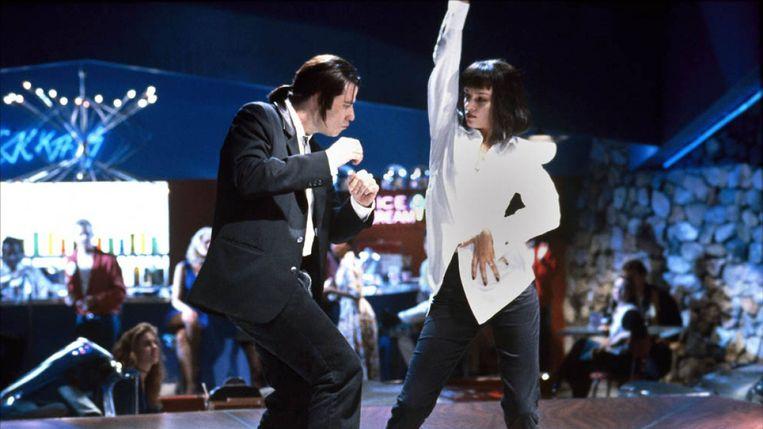 Uma Thurman en John Travolta in Pulp Fiction. Beeld