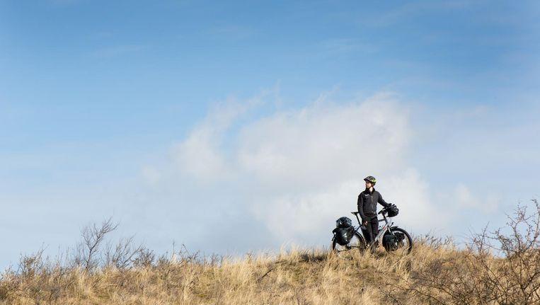 Bas Jongerius: 'Ik ben nog nooit op fietsvakantie geweest' Beeld Michel Mulder
