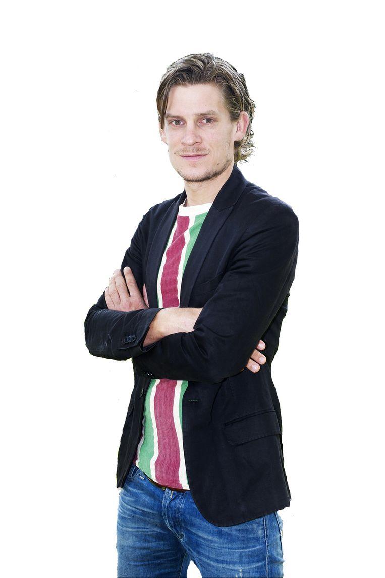 Thijs Zonneveld, (wieler)columnist van AD Sportwereld. Beeld AD Sportwereld