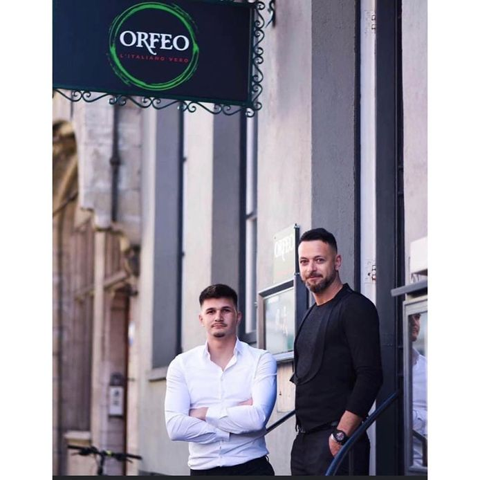 Egon en Zizo van restaurant Orfeo in Brugge.