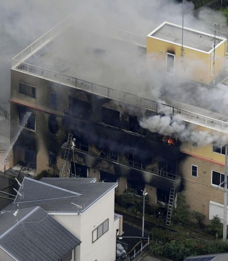 Brandstichting in Japan: 33 doden, tientallen gewonden