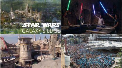 IN BEELD. Morgen opent nieuw Disneyland 'Star Wars'-park van 1 miljard in Amerika, binnenkort ook in Parijs