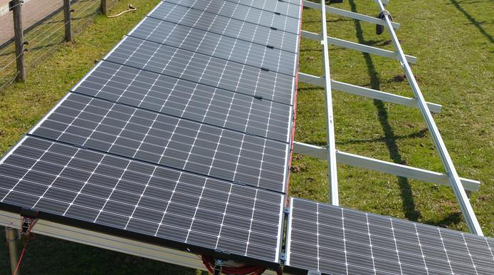 Het geplande zonneveld in Wilp moet uit 100.000 à 120.000 panelen komen te bestaan.