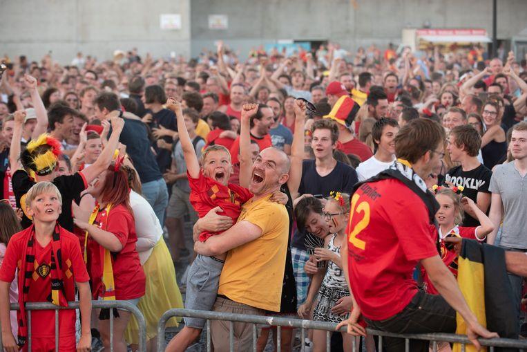 WK-gekte in Oudenaarde.