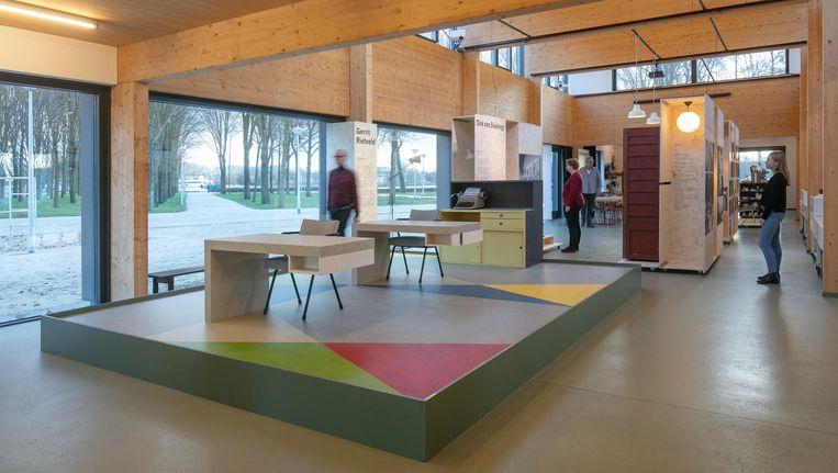 De tentoonstelling Rijke eenvoud is nu te zien in het Van Eesteren Paviljoen aan de Sloterplas. Beeld Luuk Kramer Fotografie