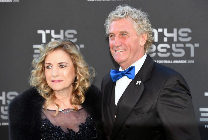 Jean-Marie Pfaff en Carmen Seth.