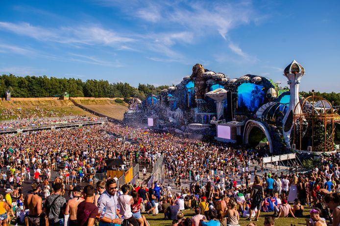 Archiefbeeld Tomorrowland 27 juli in Boom