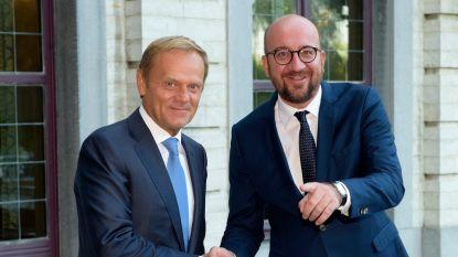 Wordt Charles Michel de opvolger van Donald Tusk als Europees president?