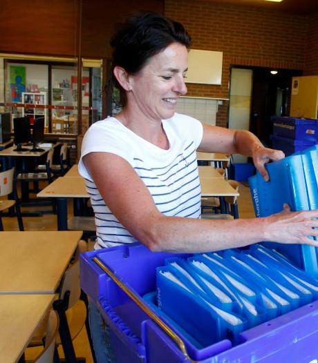 Inghelosenberghe in Sint Jansteen verhuist: 'Dag oude school'