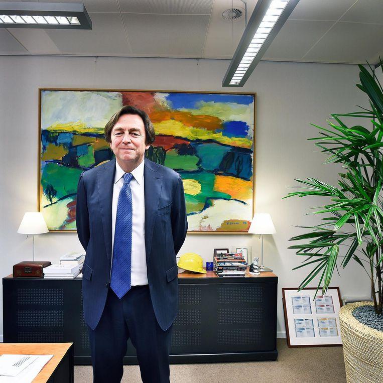 Hans Wijers, van onverdacht klimaatneutrale D66-huize, is lid van de onafhankelijke club DenkWerk, die een uitmuntend rapport schreef.  Beeld Guus Dubbelman / de Volkskrant