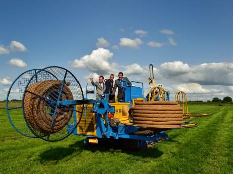 Het grootste drainageproject in polder Driebruggen is klaar