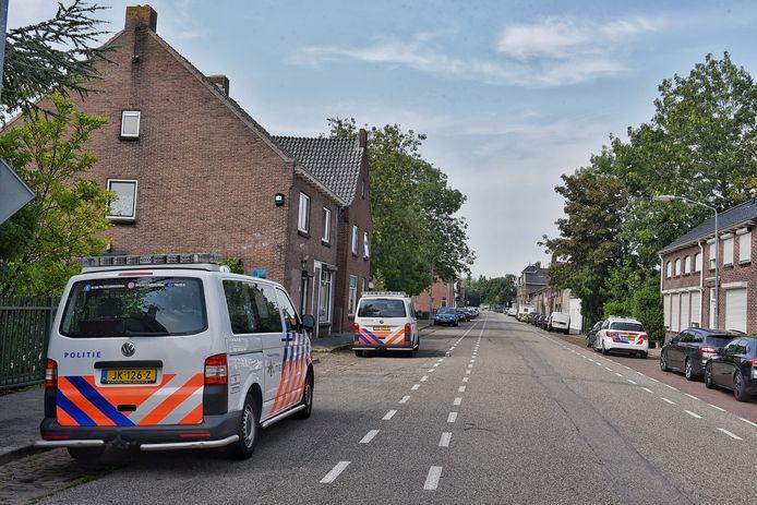 Wapenarsenaal gevonden in Moerdijk.
