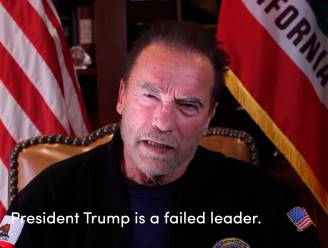 """Arnold Schwarzenegger vergelijkt rellen in Capitool met Tweede Wereldoorlog: """"Trump is de slechtste president ooit"""""""