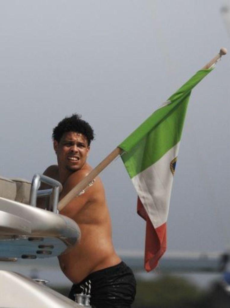 Archieffoto: Ronaldo op Ibiza.