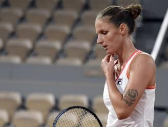 Tweede reekshoofd Pliskova blijft gelaten achter na verlies tegen ex-winnares Ostapenko