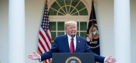 Trump verlengt crisismaatregelen na sombere voorspellingen