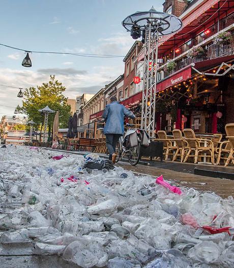 VIDEO: Bijna afvalloze Roze Maandag in Tilburg