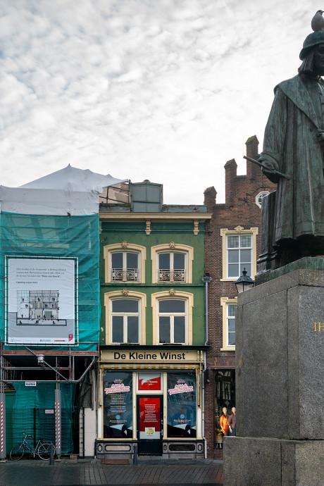 Uniek kijkje op de steigers: historische vondsten bij de buren van Jeroen Bosch