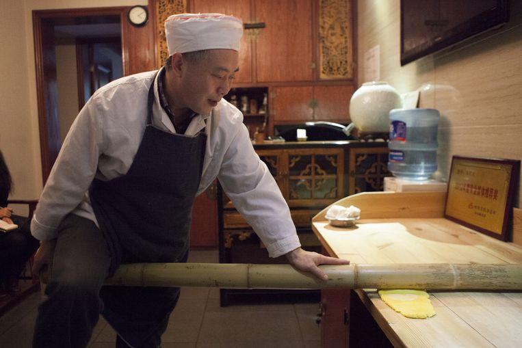 Kok Lan Guijin van restaurant Yuzhilan. Beeld