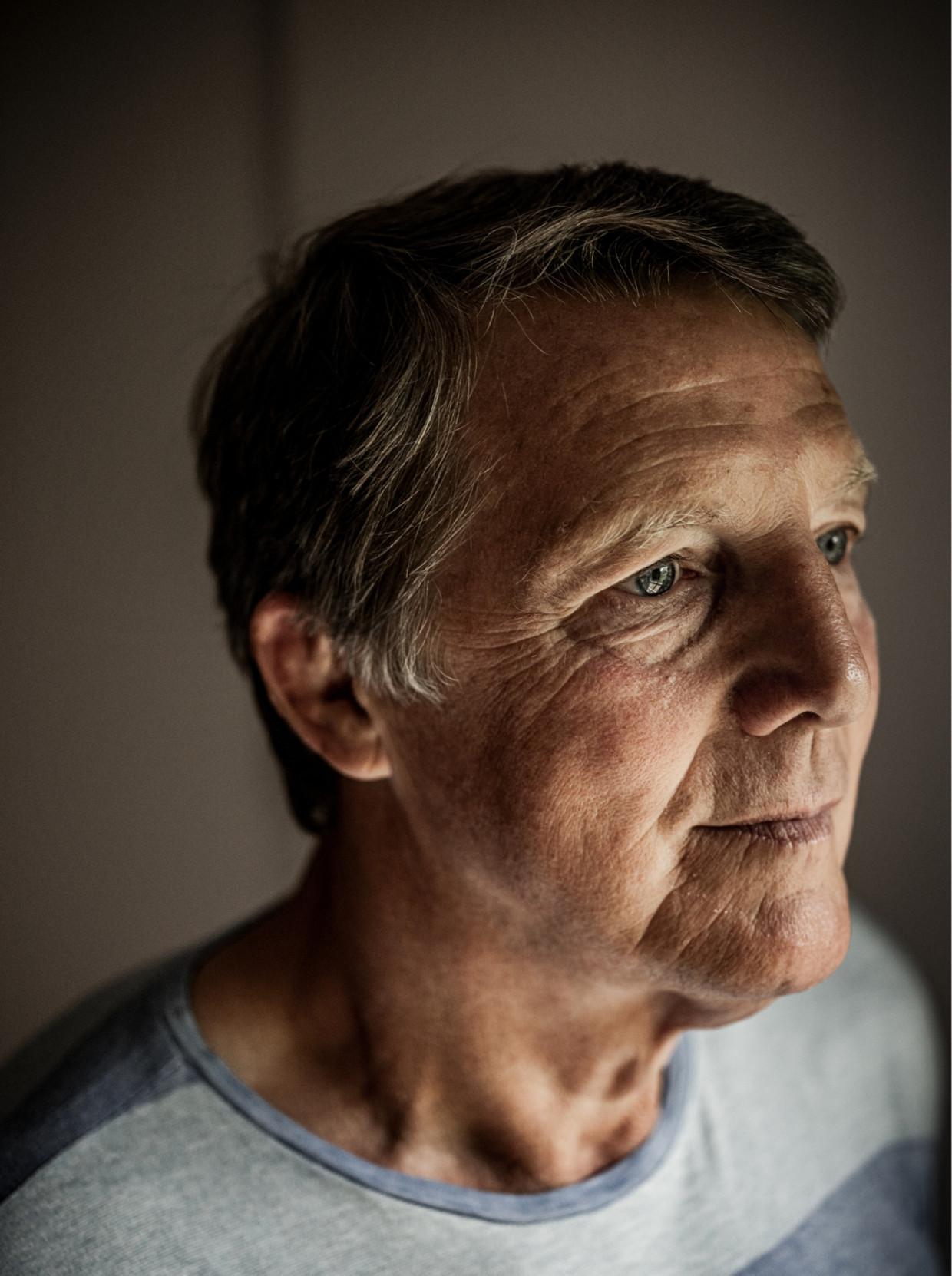 'Het heeft ruim dertig jaar geduurd voor ik mijn vader weer heb opgezocht, maar er is mij verteld dat hij op café vaak heeft zitten stoefen over mij' Beeld