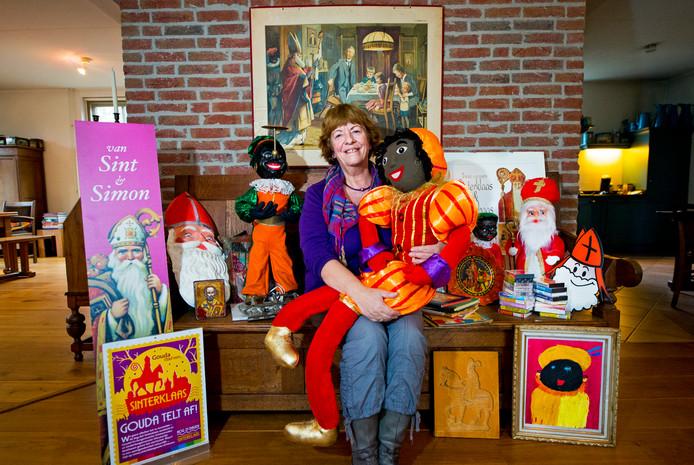Kleuterjuf Liesje Folles is groot fan van Sint en Piet.