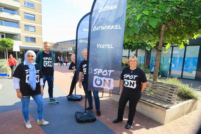 De initiatiefnemers van het project Spot ON in Eindhoven. Tweede van rechts Albert Kivits.