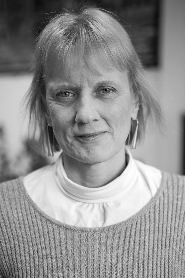 Grethe van Geffen, specialist in cultuur en diversiteit en auteur van het boek Voorbij het Verschil, het belang van inclusief leiderschap. Beeld