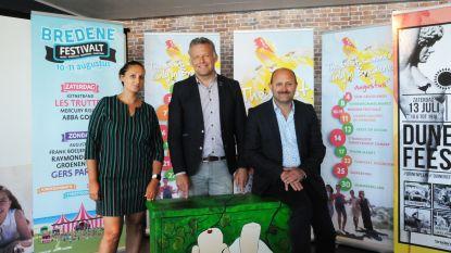 Bredene vernieuwt Dunegatfeesten, in augustus is er de eerste editie van Bredene Festivalt