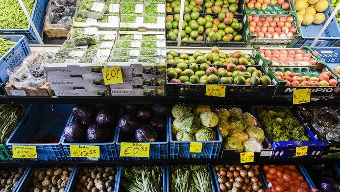 Minder boterhammen en meer groente en fruit staan op de Schijf van Vijf.