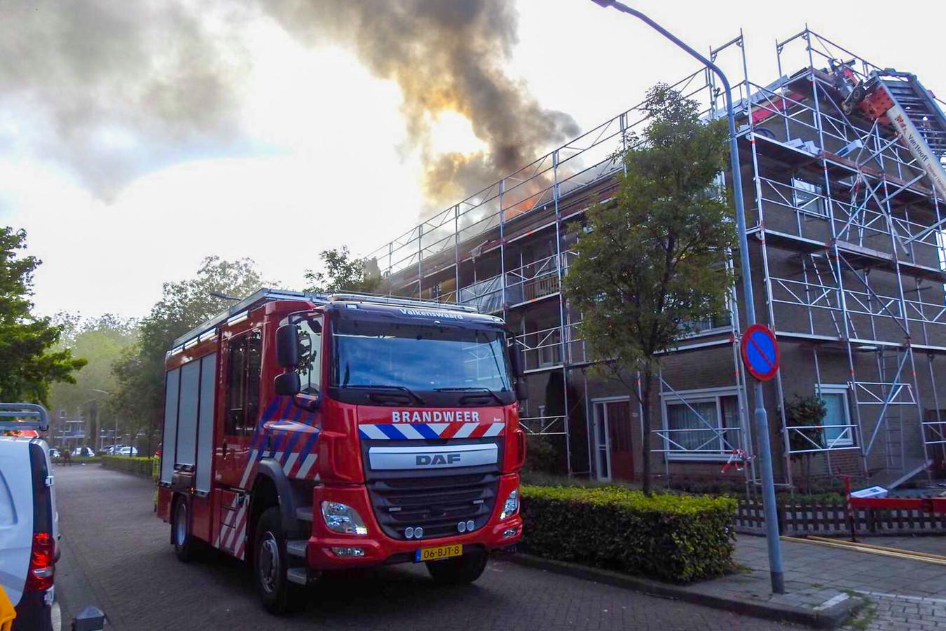 Brand in Valkenswaard