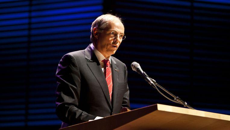 President van de Koninklijke Nederlandse Akademie van Wetenschappen Hans Clevers Beeld anp
