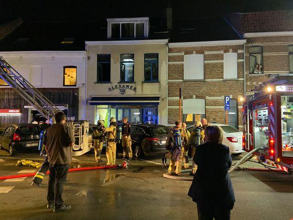 Brand Rijselstraat Brugge