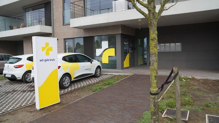 Het nieuwe pand aan de Turnhoutsebaan in Schilde.