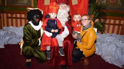 Sint ontvangt meer dan 300 kinderen