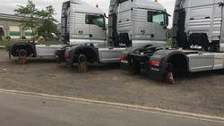 """Dieven aan de haal met maar liefst 19.000 euro aan vrachtwagenwielen: """"Eén band weegt zo'n 125 kilogram"""""""
