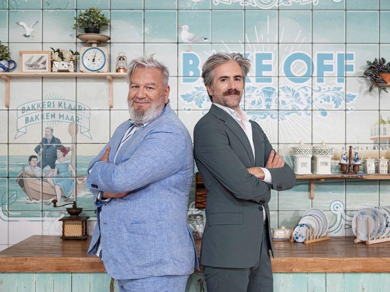 Deze zomer nemen Wim Opbrouck en Jeroom in Oostende afwisselend afleveringen voor 'Bake off Vlaanderen' en 'Bake Off Junior' op in de tent.
