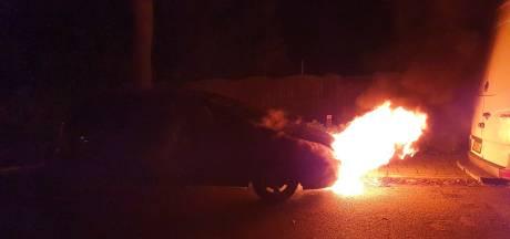Autobrand vannacht in Amersfoort