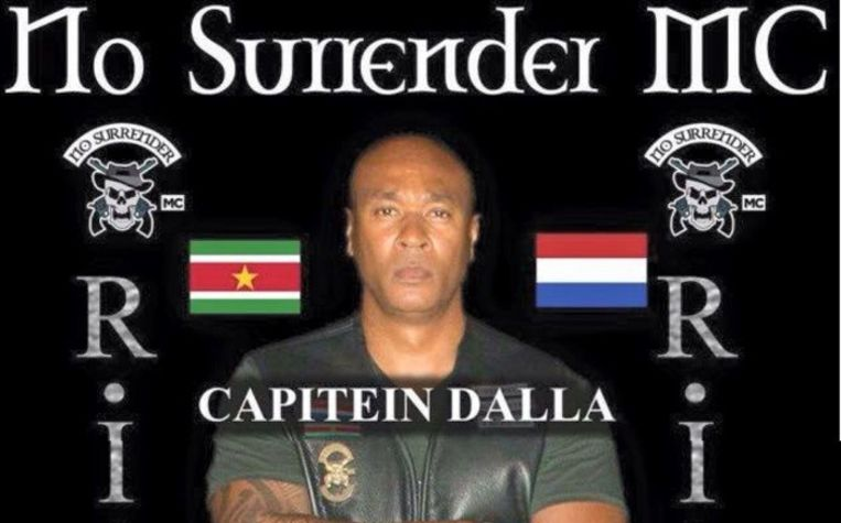 Brian Dalfour was één van de topmannen van MC No Surrender.