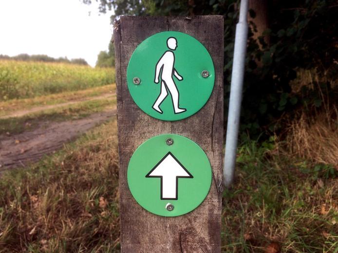 Laarzenpad in de polder van Etten-Leur.